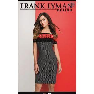 """COPY - Frank Lyman""""Cute Dress"""" off  shoulder pol…"""